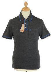 Earl ORIGINAL PENGUIN Retro Mod Tipped Polo Top DC