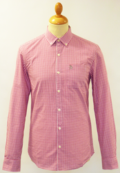 Essential Gingham ORIGINAL PENGUIN Mod Shirt (M)