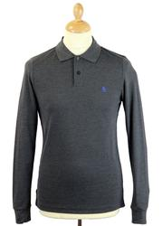 Slim Daddy ORIGINAL PENGUIN Retro Mod L/S Polo DCH