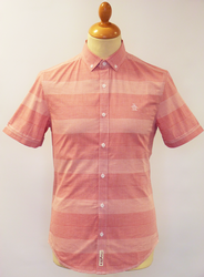 Horizontal Stripe ORIGINAL PENGUIN Retro Mod Shirt