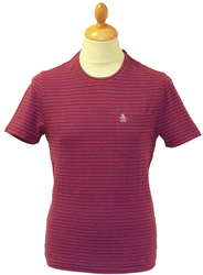 Ready in Time ORIGINAL PENGUIN Multi Stripe Tee TR