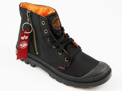 Pampa Zip MA-1 Palladium Alpha Industries Boots B