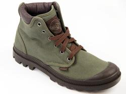 Pampa Hi Cuff PALLADIUM Mens Retro Canvas Boots OD