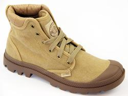Pampa Hi Cuff PALLADIUM Mens Retro Canvas Boots SD