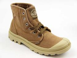 Pampa Hi Boots PALLADIUM Retro Canvas Trainers E/P