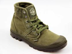 Pallabrouse PALLADIUM Enzyme Wash Canvas Boots O/G