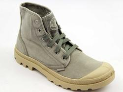 Pampa Hi Boots PALLADIUM Retro Canvas Trainers C/P