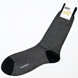 + PANTHERELLA Mod Dogtooth Retro 60s Socks -1 Pack