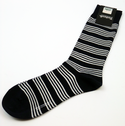 + PANTHERELLA Retro Mod Engineered Stripe Socks