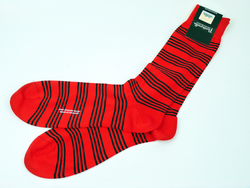 + PANTHERELLA Retro Mod Engineered Stripe Socks R