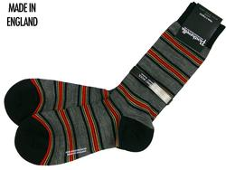 + Beaufort PANTHERELLA Retro Mod Stripe Socks (B)