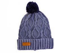 Eddit PEPE JEANS Retro 70s Enzyme Wash Bobble Hat