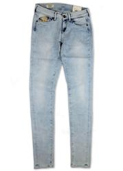 Pixie PEPE Jeans Retro Light Wash Skinny Jeans