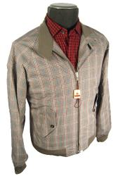 Baracuta G9 Vintage Fit Large Check Jacket (PB)