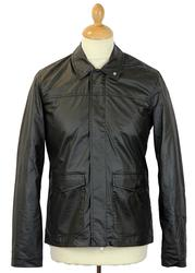 Bishop PETER WERTH Coated Cotton Field Jacket (O)