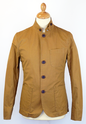 Frey PETER WERTH Retro 60s Mod Military Blazer (T)