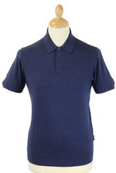 Brooksy PETER WERTH Retro Mod Knitted Polo Shirt N