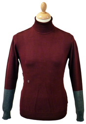 Davidson PETER WERTH Roll Neck Retro Mod Jumper P