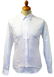 Edwards PETER WERTH Retro Mod Tuxedo Dress Shirt