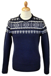 Edgar PETER WERTH Retro 70s Fair Isle Jumper (N)
