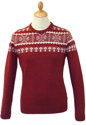 Edgar PETER WERTH Retro 70s Fair Isle Jumper (DR)