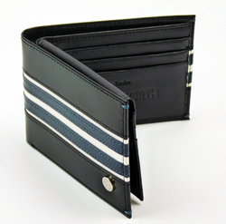 Arran PETER WERTH Retro Mod Leather Hipfold Wallet