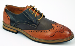 Turnmill Multi PETER WERTH 60s Mod 2-Tone Brogues