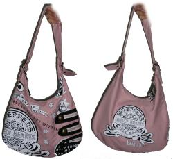 'Pink Bagism' - Beatles Slouch Bag