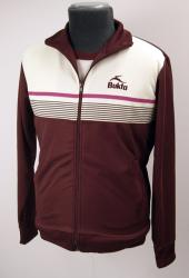 'Bukta Striped Track Top' (Port)