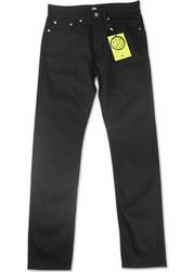 PRETTY GREEN Retro Slim Fit Rinse Wash Jeans BLACK