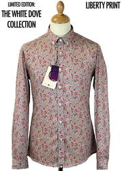 PRETTY GREEN Camrose Floral Liberty Fabric Shirt