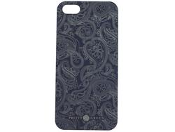 PRETTY GREEN 60s Mod Paisley iPhone 5 Case (NAVY)