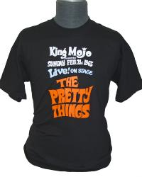 pretty things sixties mod retro indie mojo t-shirt