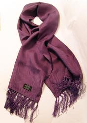 TOOTAL SCARF - Purple Pin Dot