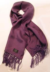 TOOTAL SCARF - Purple/Lilac Pin Dot