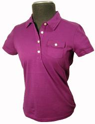 'The Diane' - Retro Mod Womens Polo by PENGUIN (G)