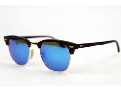 Ray-Ban Clubmaster Retro Flash Lens Sunglasses (B)