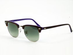 Ray-Ban Clubmaster Retro Mod Sunglasses (Purple)