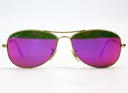 Ray-Ban Cockpit Flash Lens Retro Sunglasses (P)