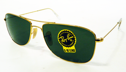 Ray-Ban Small Caravan Retro 70s Mod Sunglasses