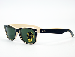 Ray-Ban New Wayfarer Retro Mod 2-Tone Sunglasses B