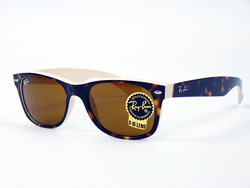 Ray-Ban New Wayfarer Retro Mod 2-Tone Sunglasses T