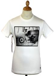 BE2C REALM & EMPIRE Retro WW1 Aircraft T-shirt (M)