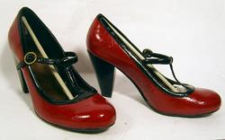 'Jodie' - Retro Fifties Shoes by LACEYS (R)
