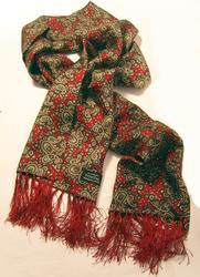 TOOTAL SCARF - Large Paisley in Red