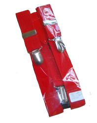 'Rudeboy Braces' - Mod 2Tone Ska Braces (Red)