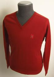 RETRO GABICCI VINTAGE MOD JUMPER V-NECK SWEATER