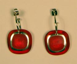 RETRO SIXTIES MOD GROOVY EARRINGS JEWELLERY INDIE