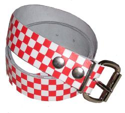 retro mod revival vintage indie checker belt 1980s