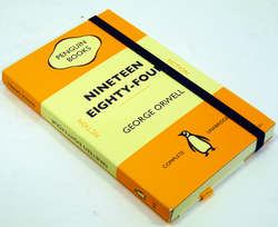 Nineteen Eighty-Four Orwell Retro Penguin Journal